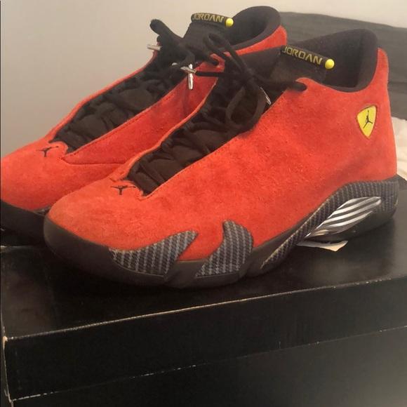 another chance f791f 0f72d Jordan Ferrari 14s 9/10 condition! OG BOX